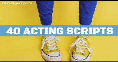 40 Acting Scripts for Actors