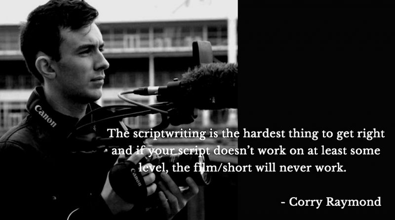Interview with Filmmaker Corry Raymond