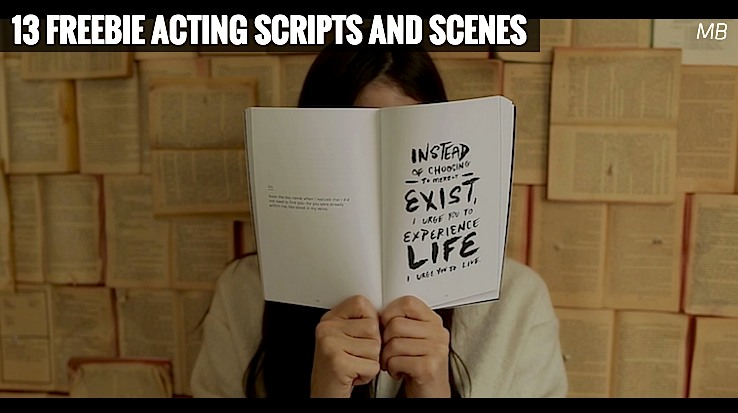 13 Freebie Acting Scripts and Scenes