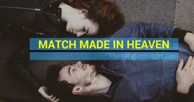 Match Made In Heaven Short Dramatic Script