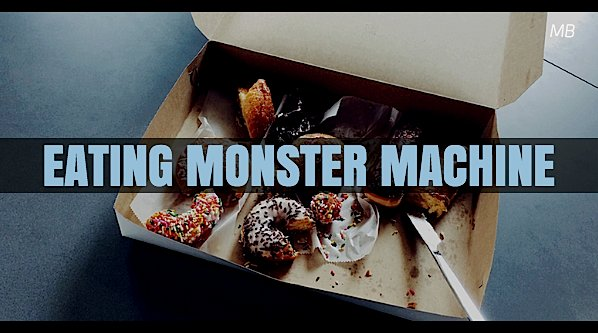 'Eating Monster Machine' Short Comic Acting Script