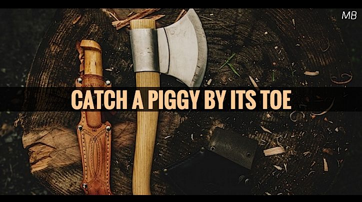 Catch A Piggy By Its Toe Crime Script