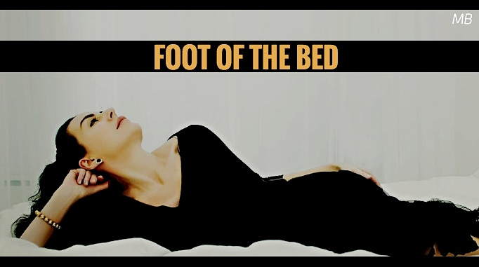 Foot of the Bed Drama for 2 Women