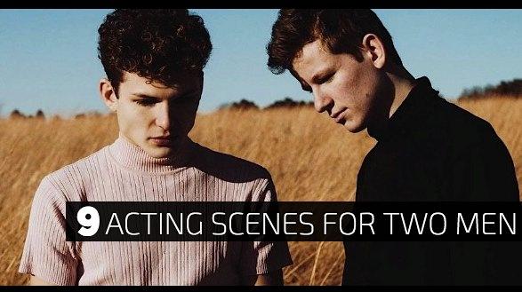 9 Acting Scenes for Two Men