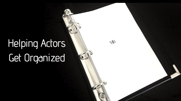 Helping Actors Get Organized
