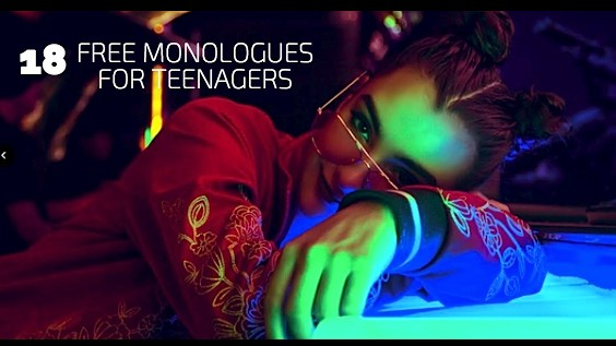 18 Free Monologues for Teenagers