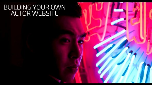 5 Steps To Building Your Own Actor Website