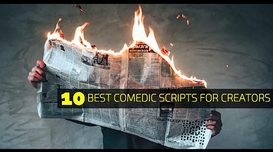 Top 10 Best Comedic Scripts for Creators