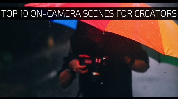 Top 10 On-Camera Scenes for Creators