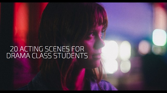 20 Acting Scenes for Drama Class Students 1