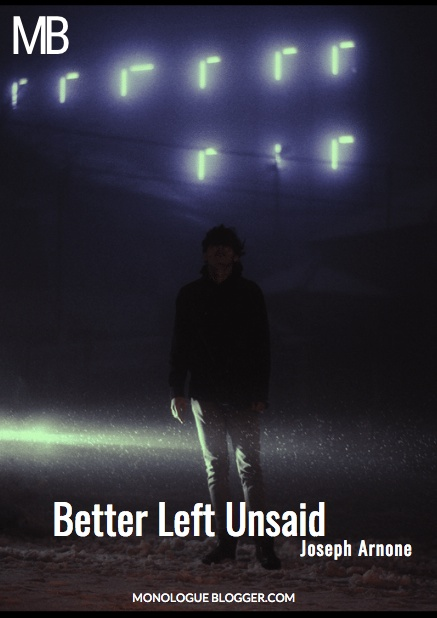 Better Left Unsaid Play Script