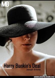 Harry Bunkin's Deal by Joseph Arnone