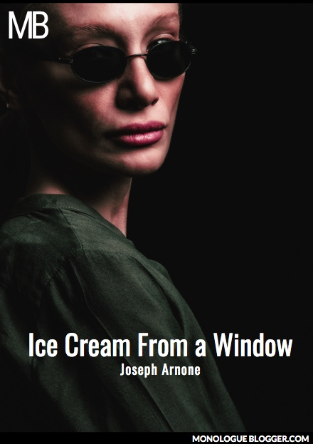 Ice Cream From a Window